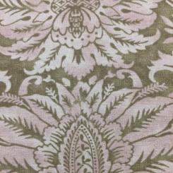 11 Yards Damask Traditional  Print  Fabric
