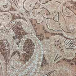 1 Yard Paisley  Print  Fabric