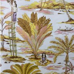 Vervain Island Palms Ochre (H)