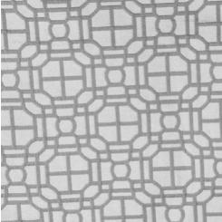 Fabricut Geo Dove Grey (H)
