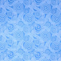 Fabricut Whoosh Blue Zombie (H)