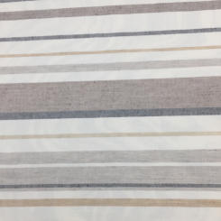 6 3/4 Yards Stripe Traditional  Canvas/Twill Woven  Fabric