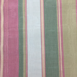 2 3/4 Yards Nautical Stripe  Canvas/Twill Satin  Fabric