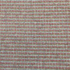 2 Yards Plaid/Check Textured  Chenille Woven  Fabric