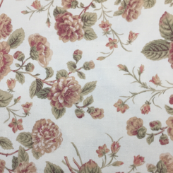 8 3/4 Yards Floral Traditional  Canvas/Twill Woven  Fabric