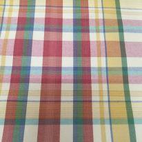 2 3/4 Yards Plaid/Check  Canvas/Twill  Fabric
