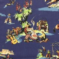 11 1/4 Yards Children Animal  Print  Fabric