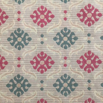 2 1/2 Yards Geometric Diamond  Woven  Fabric