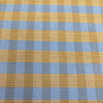 4 Yards Plaid/Check  Satin  Fabric
