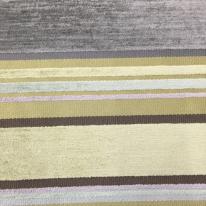 1 1/2 Yards Stripe  Chenille Textured  Fabric