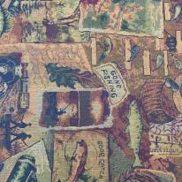 10 3/4 Yards Animal Children  Woven  Fabric