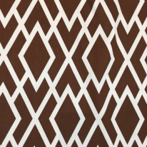 6 1/2 Yards Diamond Geometric  Print  Fabric