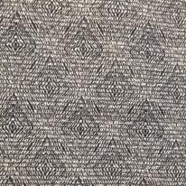 3 Yards Abstract Diamond  Woven  Fabric