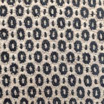 4 1/2 Yards Geometric Polka Dots  Chenille  Fabric