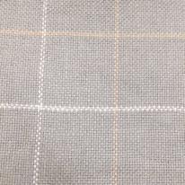 4 Yards Plaid/Check  Basket Weave  Fabric