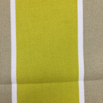 3 Yards Stripe  Basket Weave  Fabric