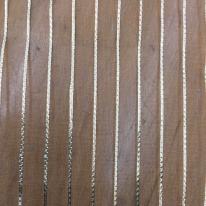 2 Yards Stripe  Sheer  Fabric