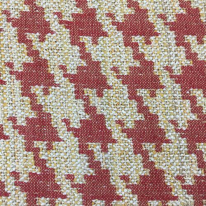3 1/4 Yards Geometric Houndstooth  Woven  Fabric