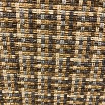 Basketweave Brown Fabric (A)