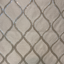 Fabricut Cubillas Shimmers Silver Sand (H)