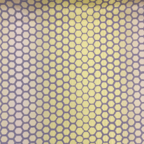 1 1/2 Yards Polka Dots Stripe  Woven  Fabric