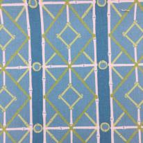 6 Yards Diamond Geometric  Print  Fabric