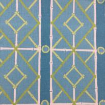 7 Yards Diamond Geometric  Print  Fabric