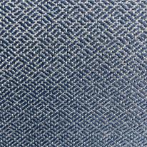 Blue Geometric Upholstery (H)