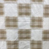 Silk Check Fabric (H)