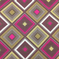 6 Yards Diamond  Print  Fabric