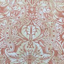 4 Yards Damask Floral  Print  Fabric