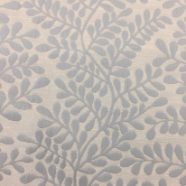 1 1/2 Yards Floral  Ribbed  Fabric