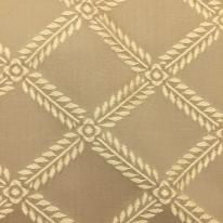 1 1/2 Yards Diamond  Embroidered  Fabric
