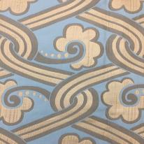 2 Yards Abstract Diamond  Satin  Fabric