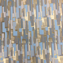 2 Yards Geometric  Woven  Fabric