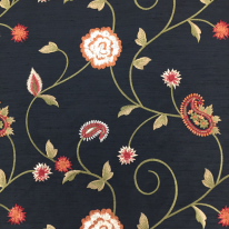 9 1/2 Yards Floral  Embroidered  Fabric
