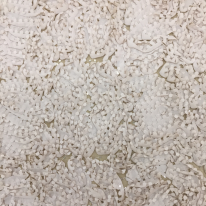 1 1/4 Yards Abstract  Sheer  Fabric