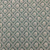 4 Yards Diamond Floral  Woven  Fabric