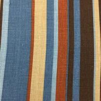 8 Yards Stripe Traditional  Print  Fabric