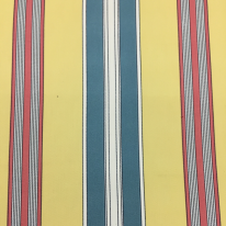 7 1/2 Yards Stripe Traditional  Print  Fabric