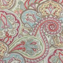 1 1/4 Yards Paisley Traditional  Print  Fabric