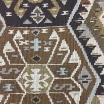 13 3/4 Yards Abstract Geometric  Print  Fabric