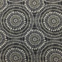 1 Yard Abstract Geometric  Woven  Fabric