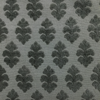 3 1/4 Yards Damask Floral  Chenille Embroidered  Fabric