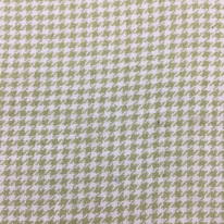 3 Yards Houndstooth Plaid/Check  Woven  Fabric
