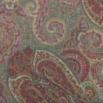 3 Yards Damask Traditional  Print  Fabric