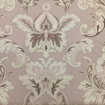 5 Yards Damask Traditional  Woven  Fabric