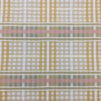 1 3/4 Yards Plaid/Check Traditional  Woven  Fabric