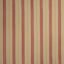 Fabricut Delia Stripe Redbud (H)
