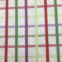 2 1/4 Yards Plaid/Check Traditional  Ribbed Woven  Fabric